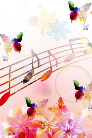 Musical-Notes-Butterflies