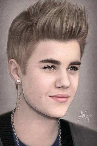 Justin Bieber Art