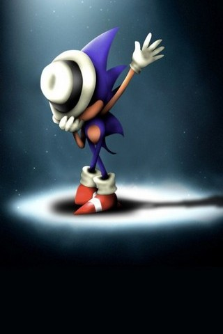 Sonic Hedgehog Michael Jackson