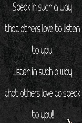Speak & Listen