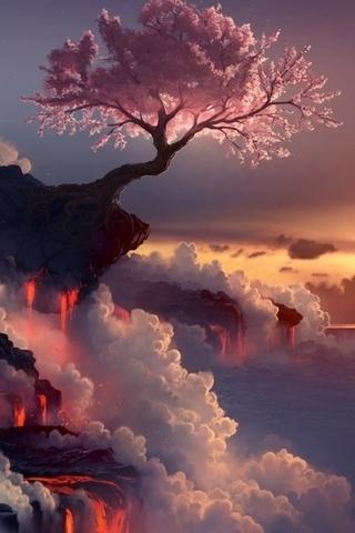 Fantasy Sakura Lava