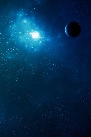 Outer Space View