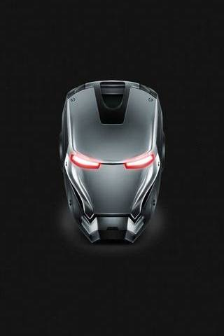 Iron Man Gray Steel Helmet