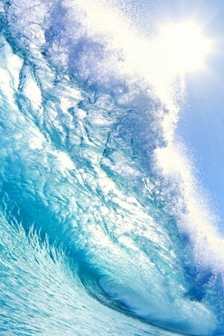 Crystal Blue Wave