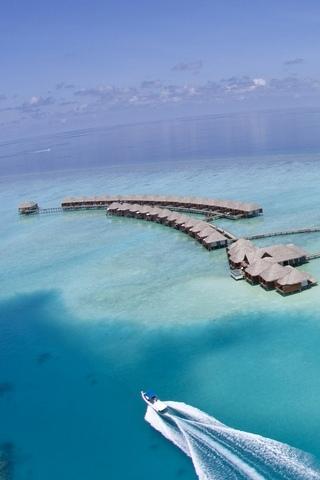 جزر المالديف، جزيرة