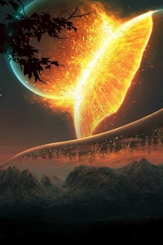 Futuristic-Planets