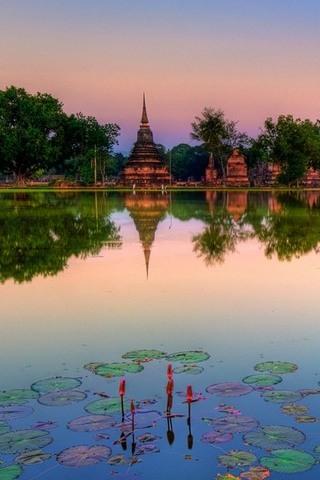 スコータイ - 歴史公園 - タイ