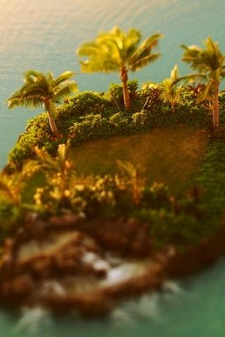 Tilt Shift Island