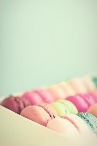 Macaron vintage