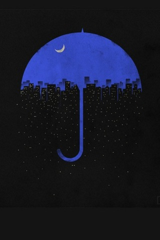 Night Umbrella City