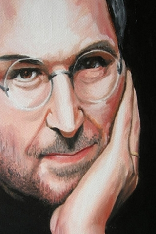 Steve Jobs Painting