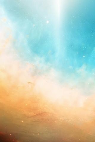 Contrail Nebula Outer Sky