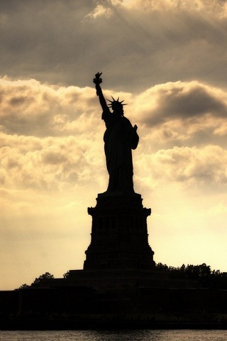 Statue Of Liberty In New York,