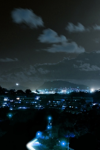 Poha Kea At Night