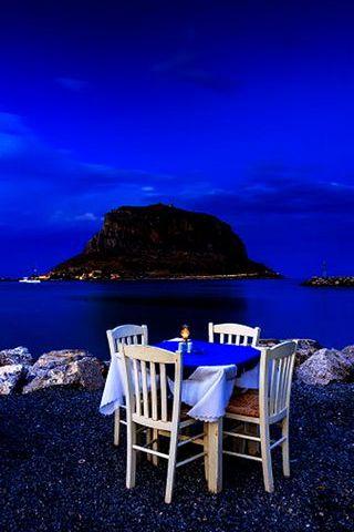 Deep Blue Night