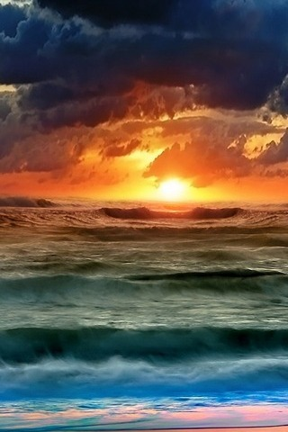 Geç akşam güneşi