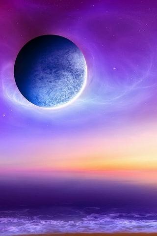 Violet-lune