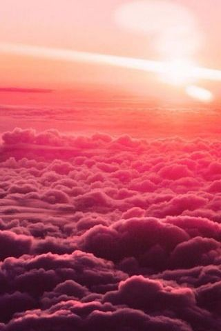 Różowe niebo