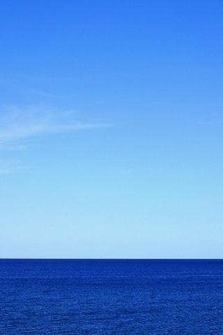 समुद्र आणि आकाश