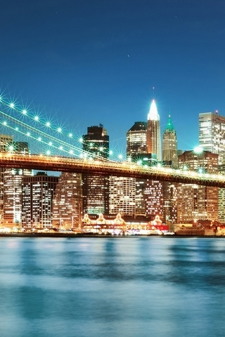 New-York-city-night-lights