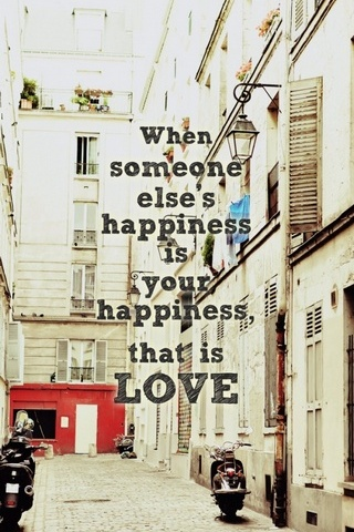 Happiness Is Love