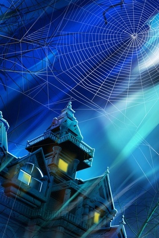 Spooky House Night Hallowmas Halloween