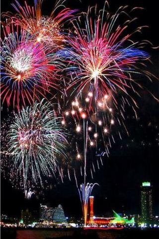 Fireworks Iphone 5 Wallpaper