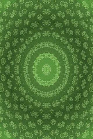 Green Snowbank
