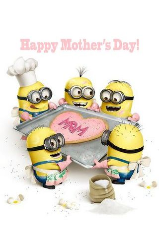 Minion Happy Mothers' Day