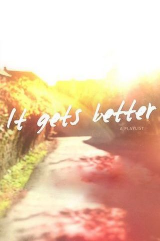 It Gets Better Sunshine Vintage Nature Landscape Funny Poster