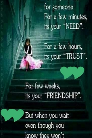 Trust Friendship
