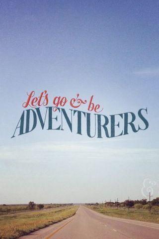Seja aventureiro