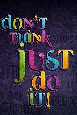 Просто сделай это