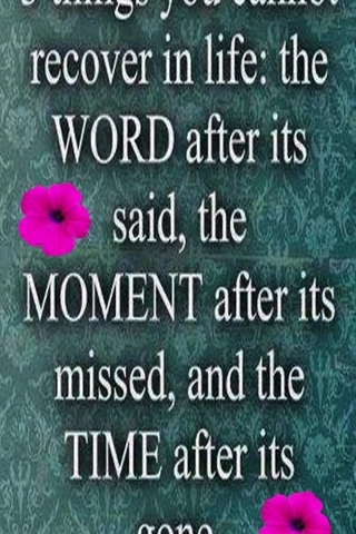 Word Moment Time