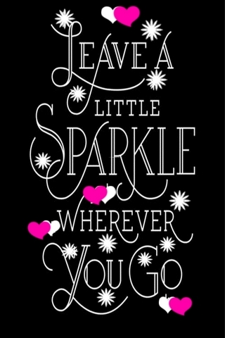 Leave Little Sparkle