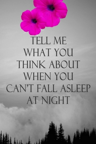 Cant Fall A Sleep