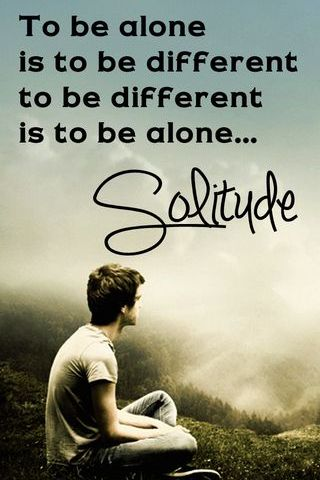 Im Alone Solitude
