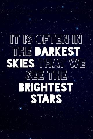 Shines Brightest At Darkest