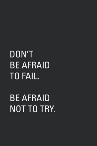 Don't Afraid To Fall