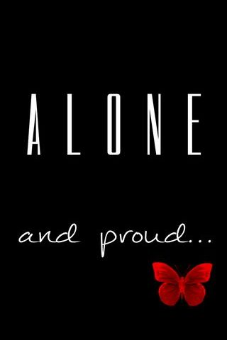 Alone And Proud