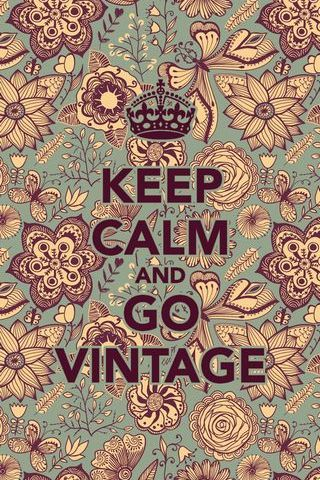 Giữ Calm And Go Vintage