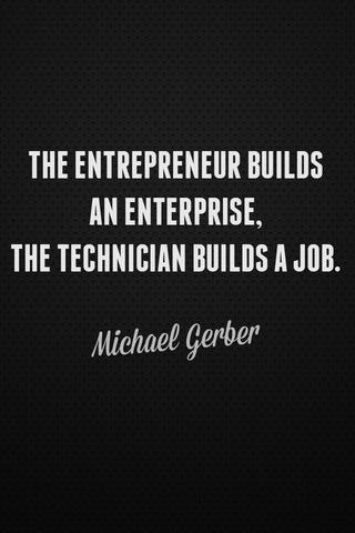 Entrepreneur vs Technician