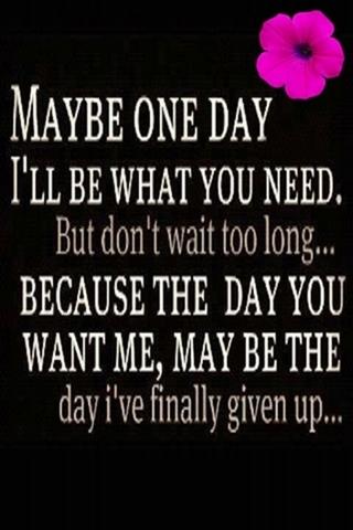 Có thể Một Ngày