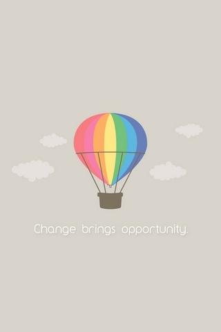 Thay đổi mang cơ hội