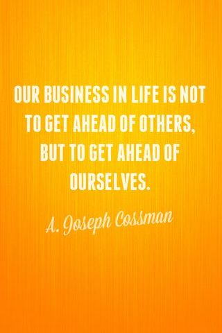 Our Business In Life