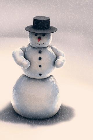 クリスマススノーマン