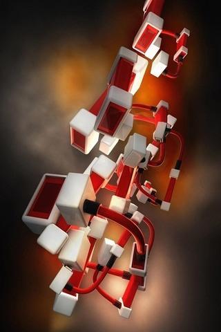 连接立方体
