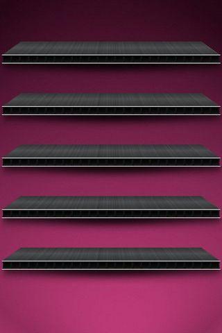 Purple BG W Shelves (IPhone 5)