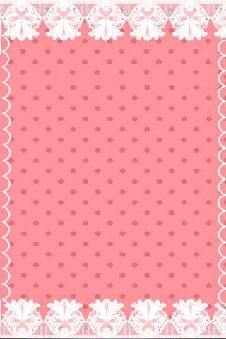 분홍색 물방울 달콤한 선반