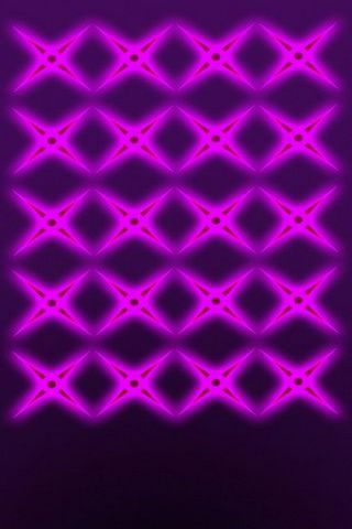Purple BG W Glow Stars Shelves - IP5